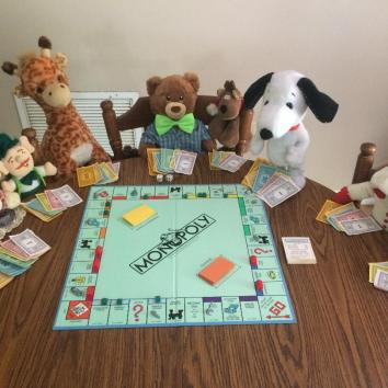 Monopoly with friends.