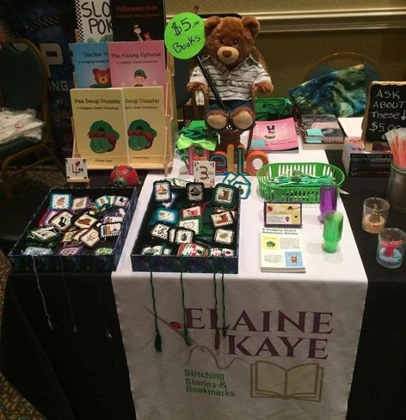 Elaine Kaye's table at #SBL2019