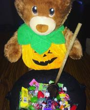 Sammy is making a magic potion...CANDY!